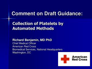 Comment on Draft Guidance: