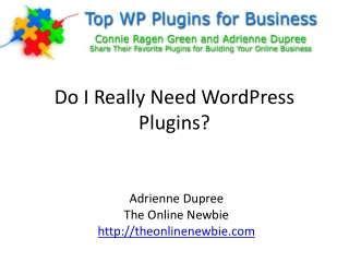 Do I Really Need WordPress?