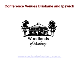 Conference Venues Brisbane and Ipswich