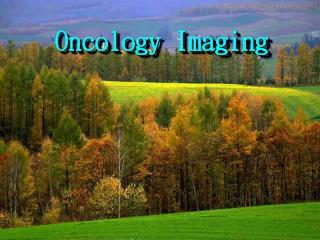 Principal Imaging Modalities