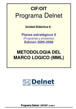 Programa Delnet - CIF