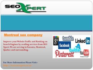 Montreal seo company