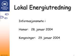 Lokal Energiutredning