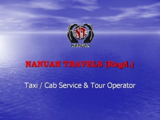 Taxi Service at Affordable Price