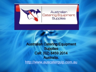 Restaurant equipment a vital part of commercial restaurant