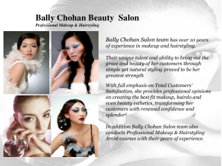 Bally Chohan Beauty Salon