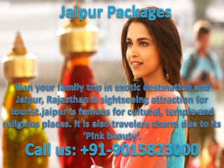 Domestic and international tour packages with complete guide