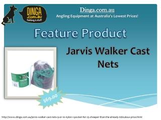 Jarvis Walker Cast Nets 9' or 10' Nylon 1