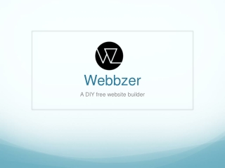 A DIY free website builder