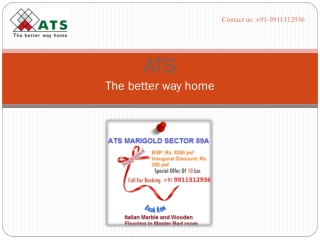 ATS new projects call 9911312936