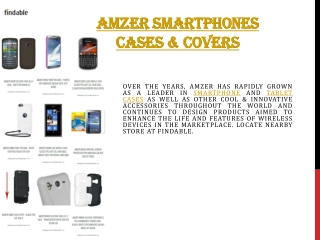 Amzer Mobile covers and smartphone cases
