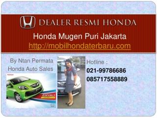 Honda Brio Jakarta 021-99786686