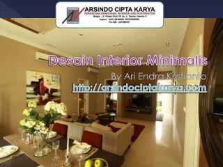 Desain Interior Minimalis By Arsindociptakarya