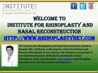 Best Rhinoplasty Surgeon Los Angeles