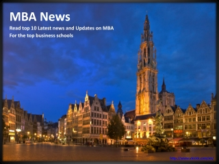 Top 10 MBA news