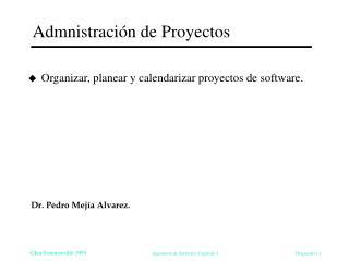 Admnistraci n de Proyectos