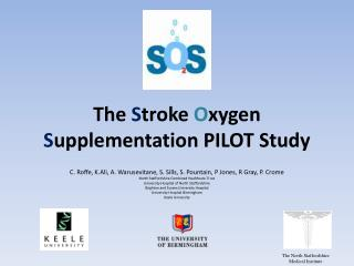 The Stroke Oxygen Supplementation PILOT Study