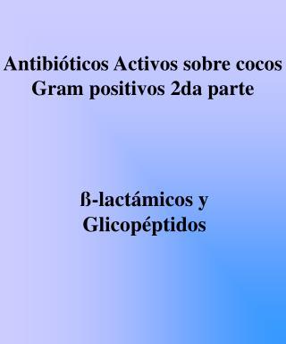 -lact micos y Glicop ptidos