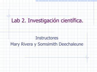 Lab 2. Investigaci n cient fica.