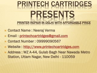 Printer repair in delhi