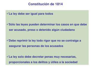 Constituci n de 1814