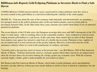 billhionas.info reports gold eclipsing platinum as investors
