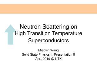 Neutron Scattering on
