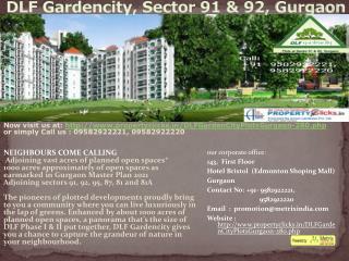 dlf gardencity, sector 91/92, gurgaon|9582922221, 9582922220