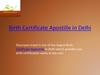 appostille certification in delhi