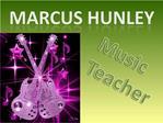 Marcus Hunley