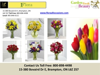 Buy Online Wedding Flowers - Brampton | Greater Toronto Area