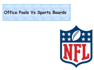 Office Pools Vs Sports Boards