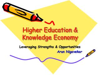Higher Education  Knowledge Economy