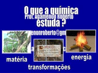 Prof. Agamenon Roberto