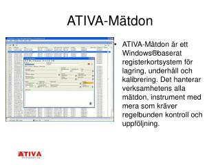 ATIVA-M tdon