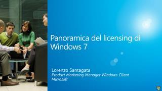 Panoramica del licensing di Windows 7
