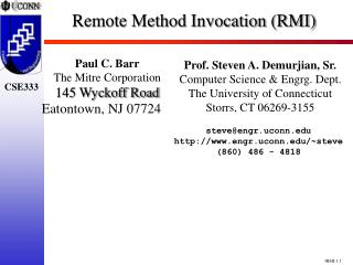 remote method invocation rmi