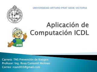 Aplicaci n de Computaci n ICDL