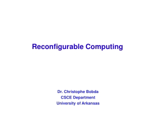 reconfigurable computing rc group