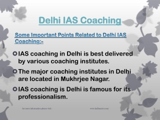 Most Famous Delhi IAS Coaching
