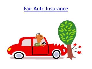 Fair Auto Insurance