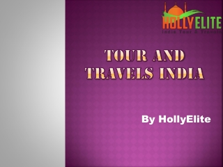 Tour And Travels india