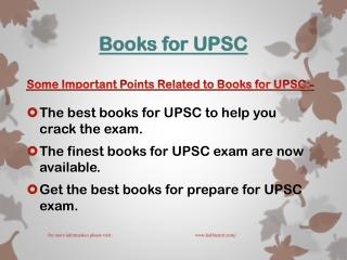 Best Books for UPSC