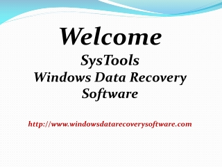 Hard Drive Data Recovery Tool
