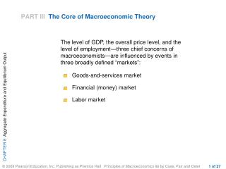 PART III  The Core of Macroeconomic Theory