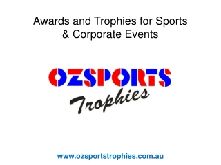 Buy Sport Trophies in Brisbane