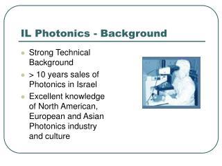IL Photonics - Background