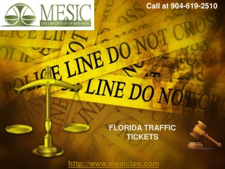 JACKSONVILLE TRAFFIC TICKET ATTORNEY-KATE MESIC
