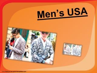 Mens Colorful Blazer
