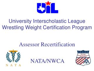University Interscholastic League Wrestling Weight Certification Program